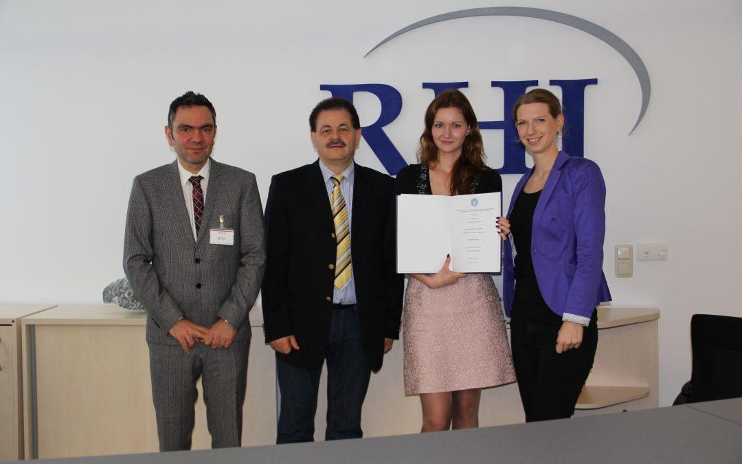 RHI a Leading Partner of Lauder Business School
