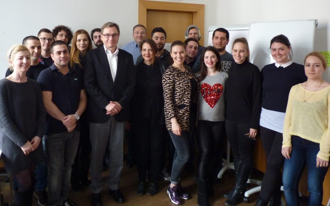 Management Visiting Professorship- Mag. Georg Gruber, MBA  Raiffeisen