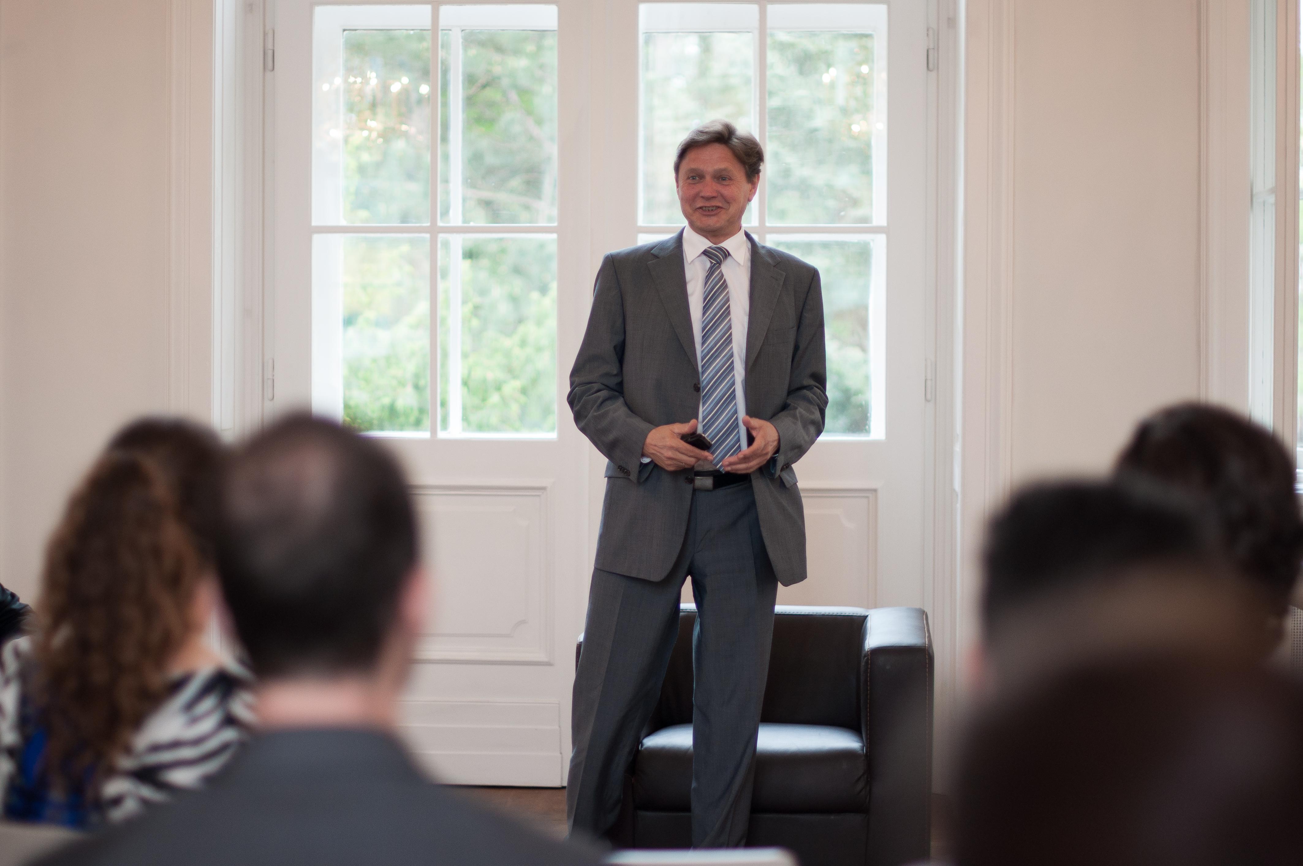 Mr. Anzengruber, CEO of VERBUND