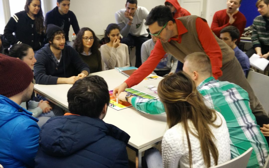 Innovative teaching approach in IBA's 3rd semester project management class