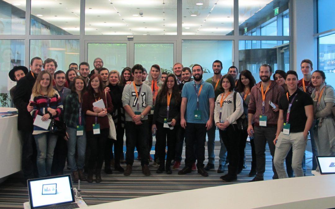 LBS students visit Microsoft Austria