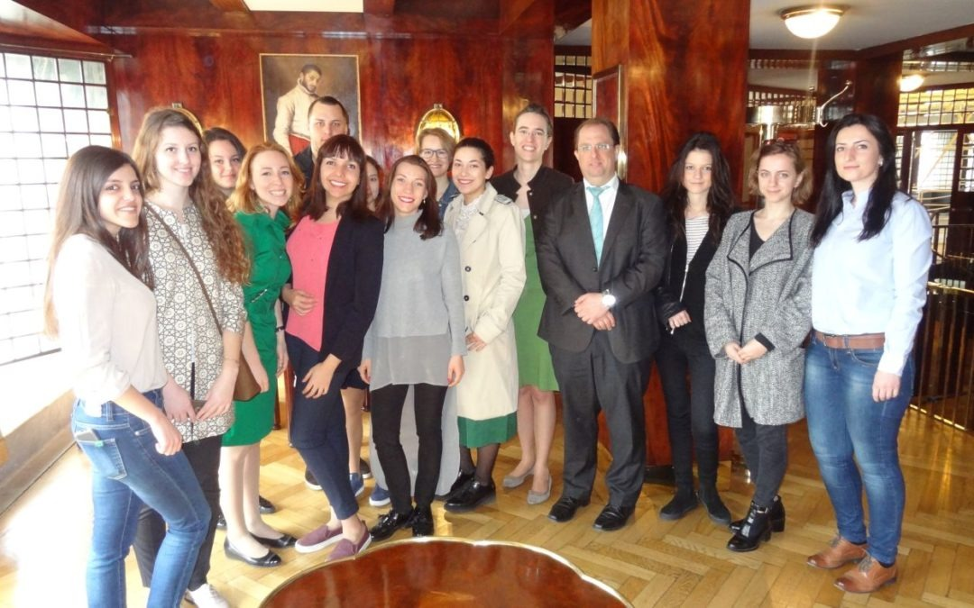 BFC Master Students Field Trip in Looshaus & Raiffeisen Private Banking