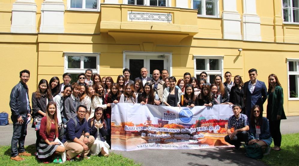 Young MBA Delegation from NIDA Bangkok visits LBS