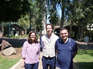 Dr. Kübler (LBS), Christian Jowers (IDC Herzliya), Prof. Dem (LBS)