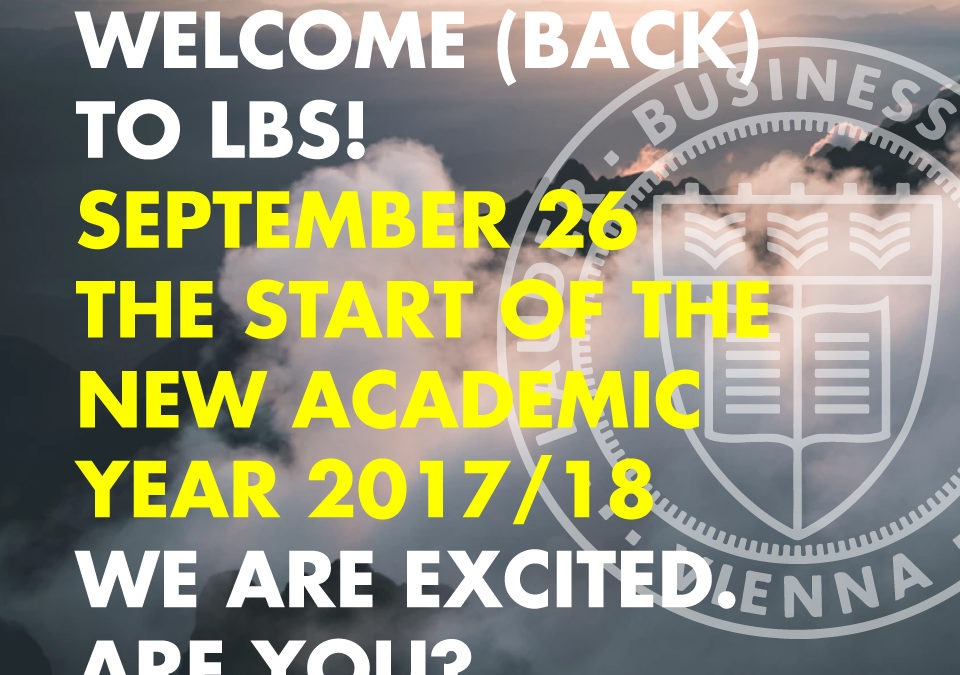 WELCOME (BACK)!
