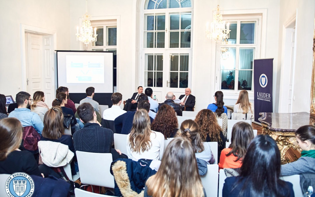 President of the National Bank of Austria visits LBS