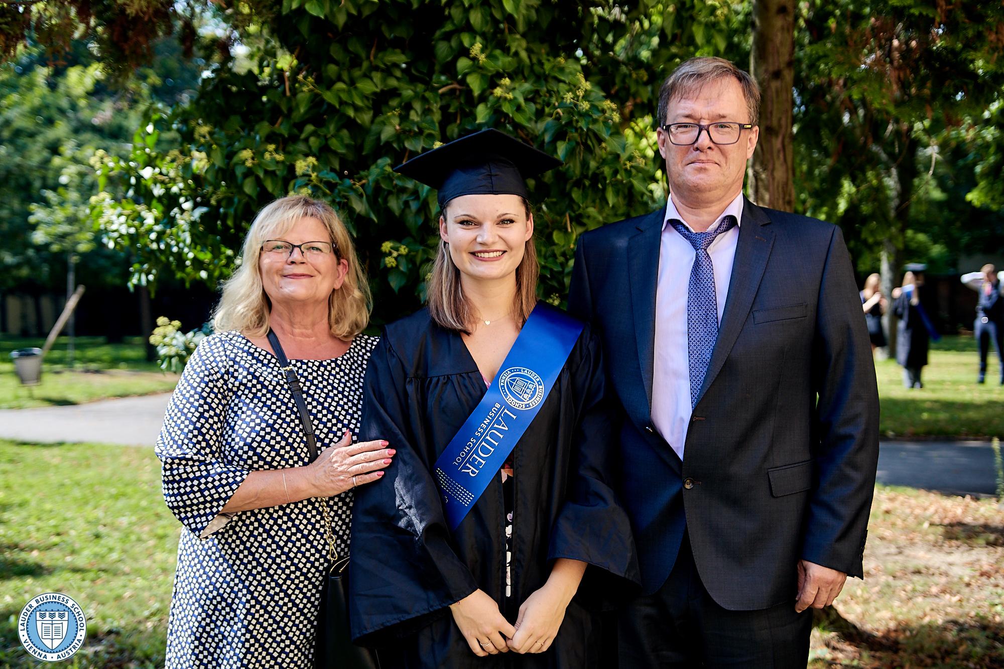 Graduates with Family