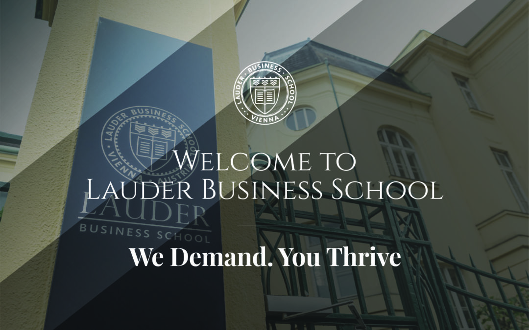 Welcome to Lauder Business School