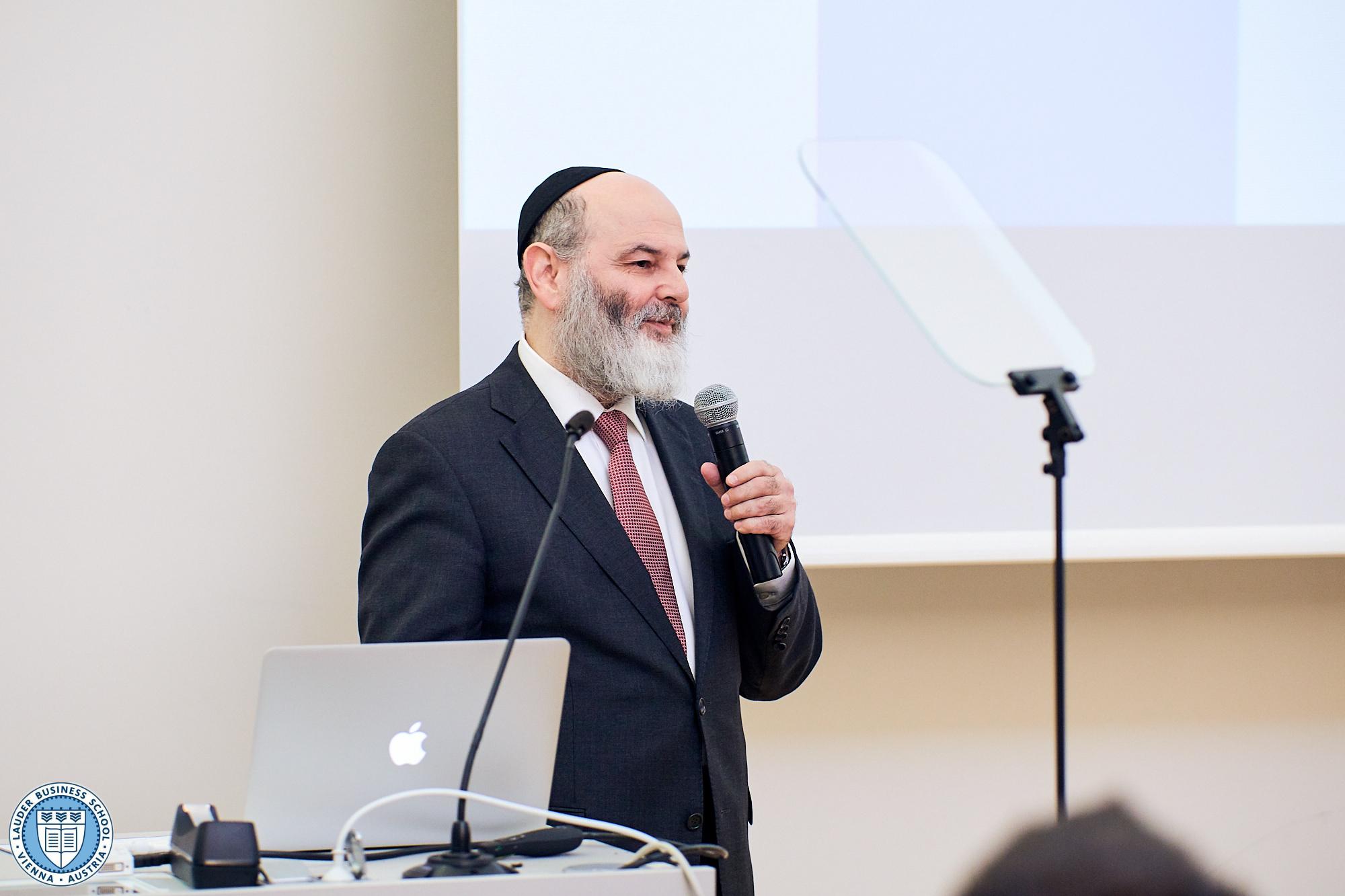 Vice President Prof. Jacob I. Biderman