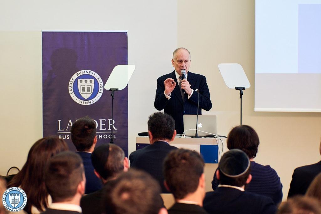 Ambassador Ronald S. Lauder at LBS