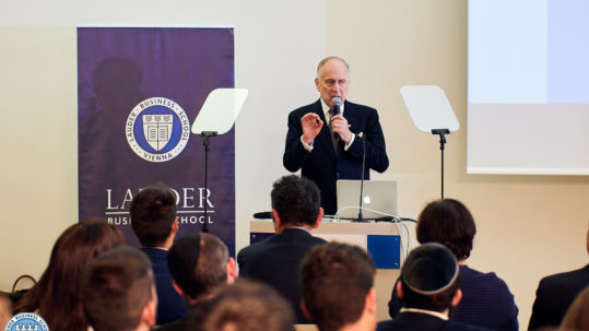 Ambassador Ronald S. Lauder at LBS