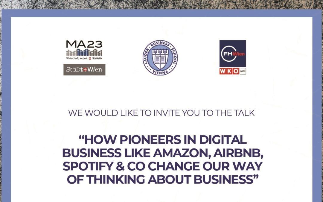 Talk On New Business Models