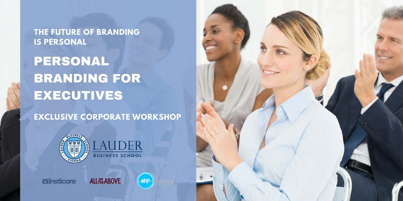 Exclusive Personal Branding Workshop for Executives
