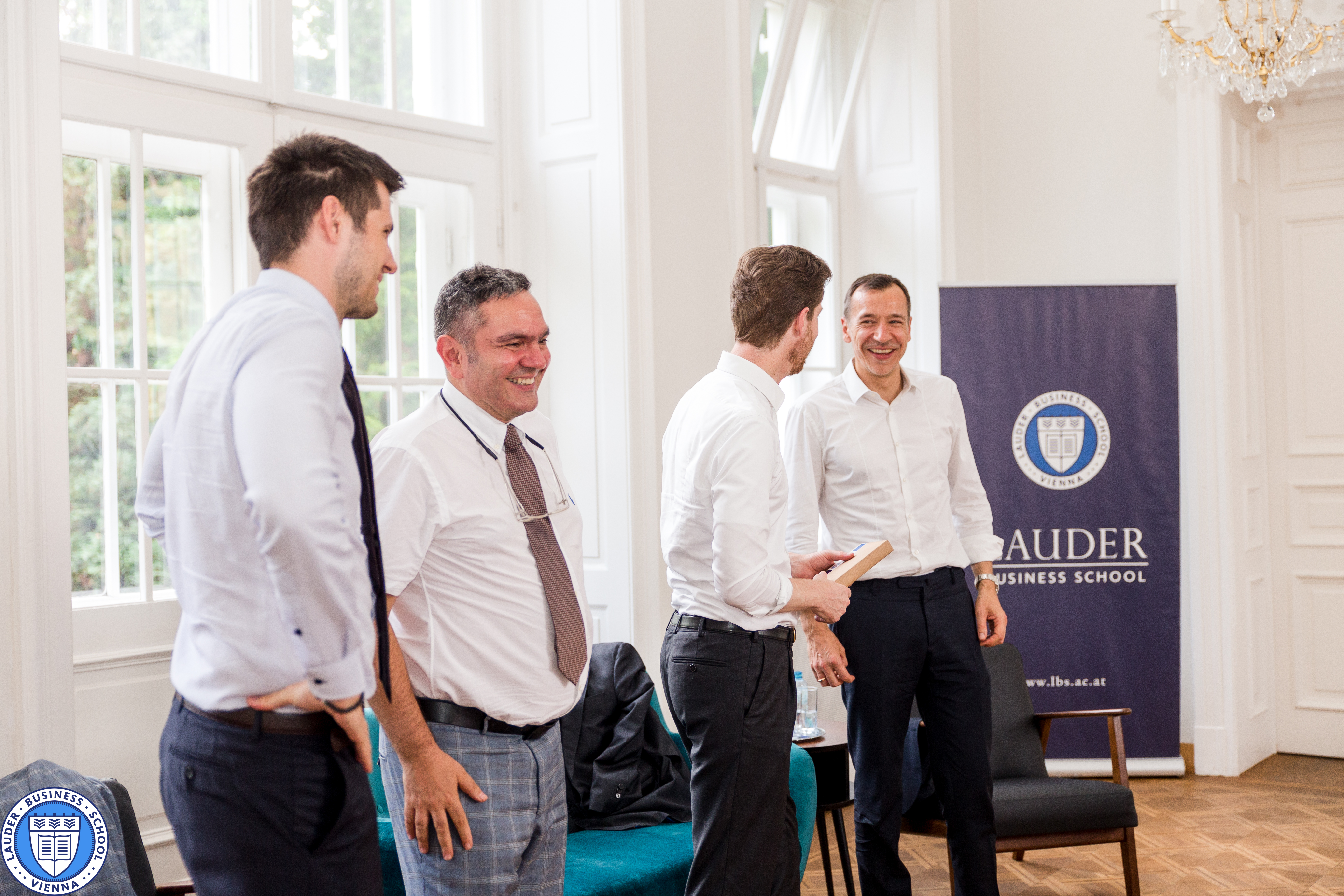 CEO of Austrian Airlines at Lauder Business School