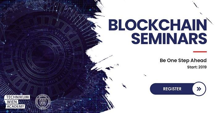 Blockchain Seminars – Be One Step Ahead