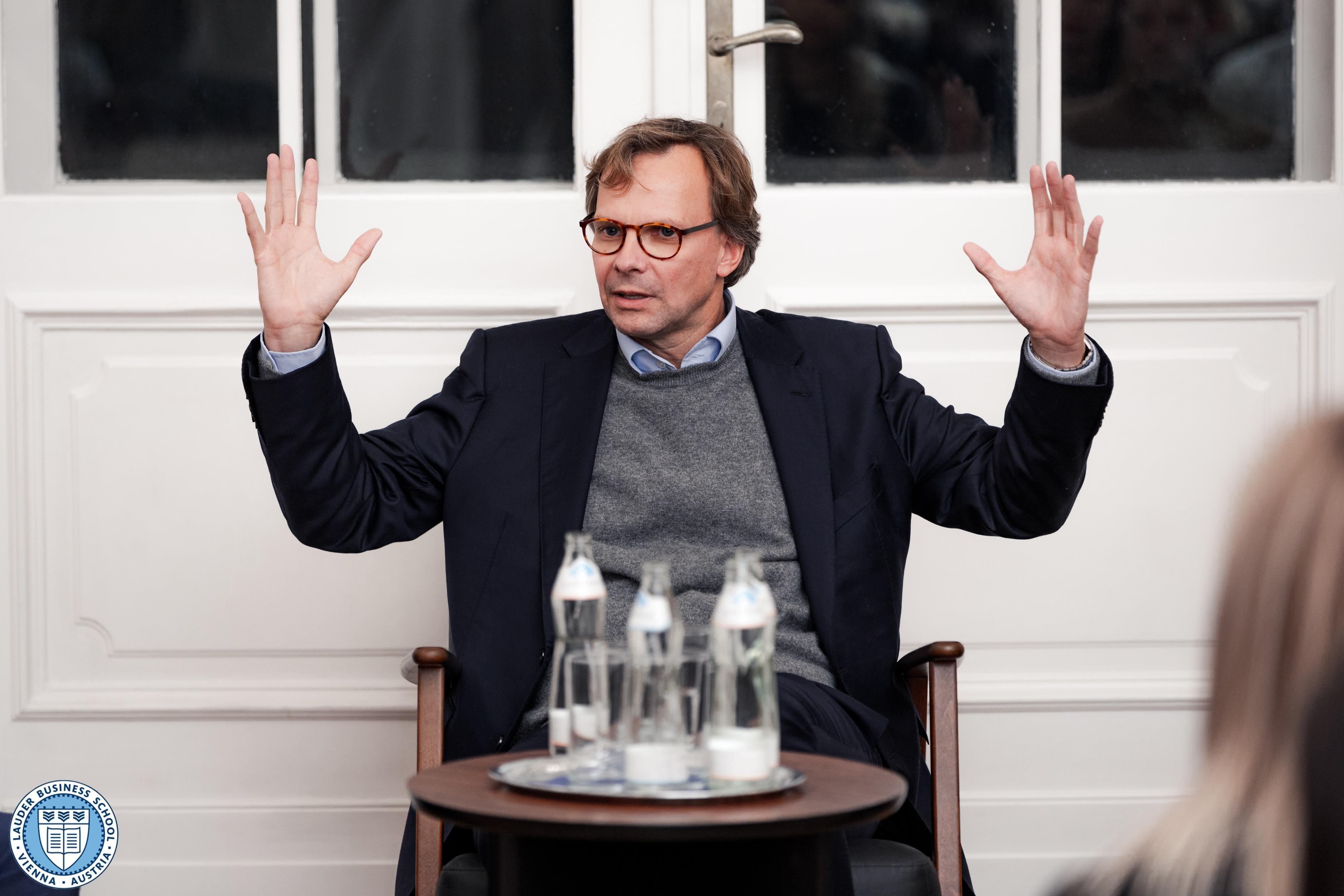 Dr. Andreas Bierwirth, CEO of Magenta Telekom