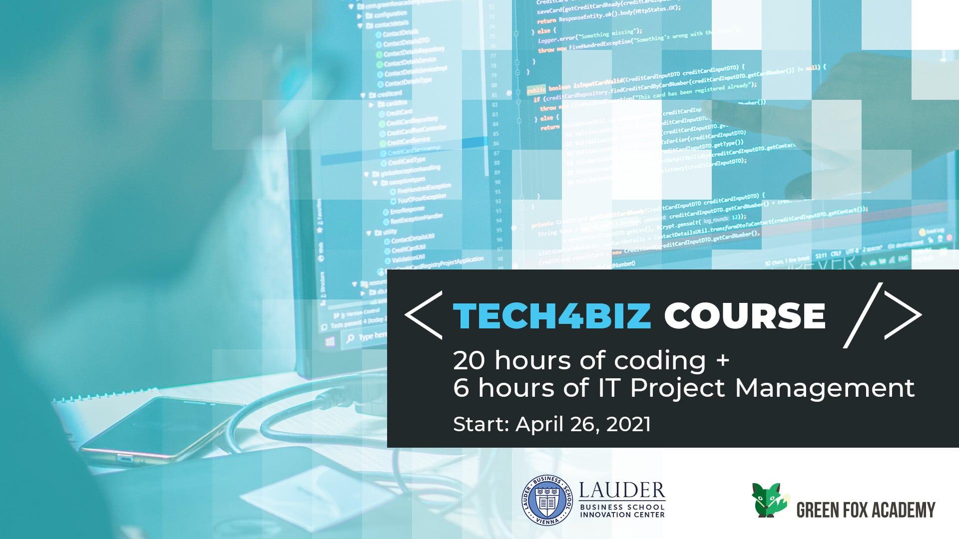 Tech4Biz Course