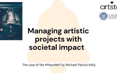 Managing Art Projects with Societal Impact